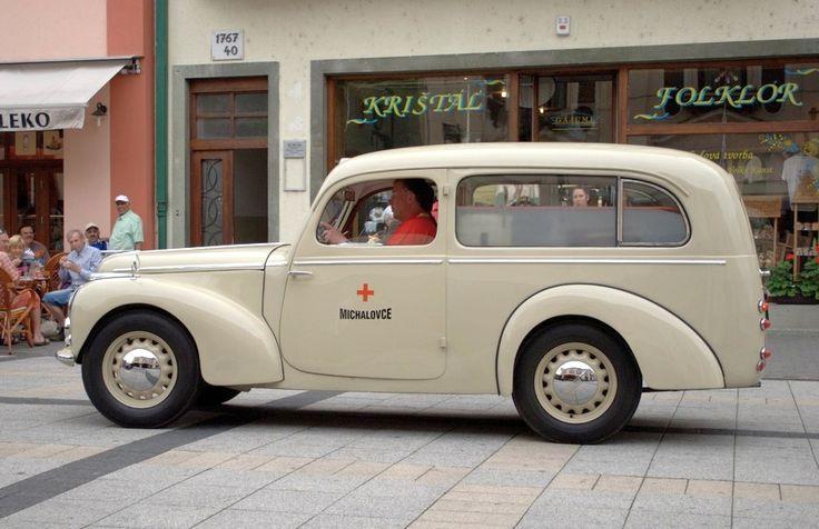 1948 Skoda 1101/1102 Tudor Ambulance