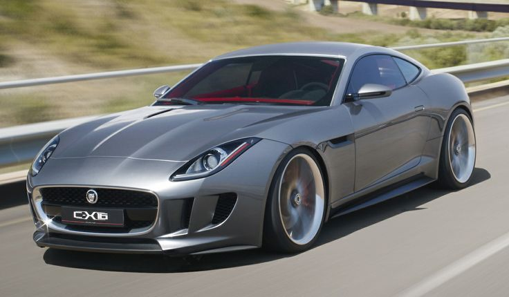 Saw this on Top Gear! so pretty, prefer in british racing green ❦ 2013 Jaguar F-Type