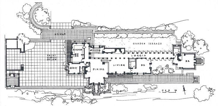 Frank lloyd wright ennis house los ngeles estados for Usonian style house plans