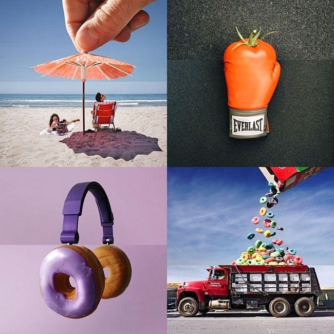 Креативный директор Стивен McMennamy комбинирует свои оригинальные фотографии, чтобы создать восхитительно-причудливые коллажи называемые #ComboPhotos.