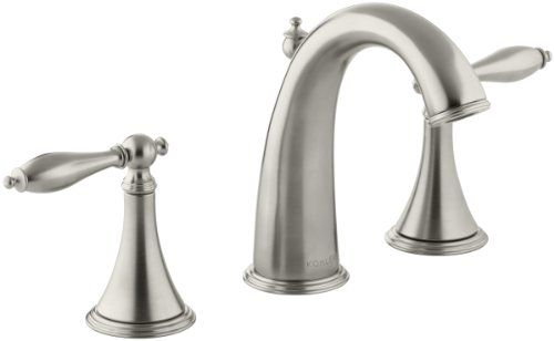 KOHLER K-310-4M-BN Finial Traditional Widespread Lavatory Faucet, Vibrant Brushed Nickel Kohler http://www.amazon.com/dp/B000MF8CG2/ref=cm_sw_r_pi_dp_a.K1wb12RMXMV
