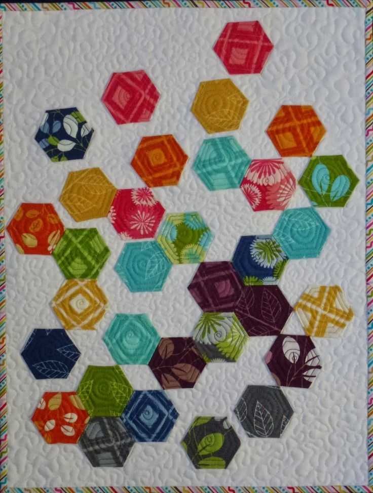 17 Best Images About Hexagon Quilts On Pinterest