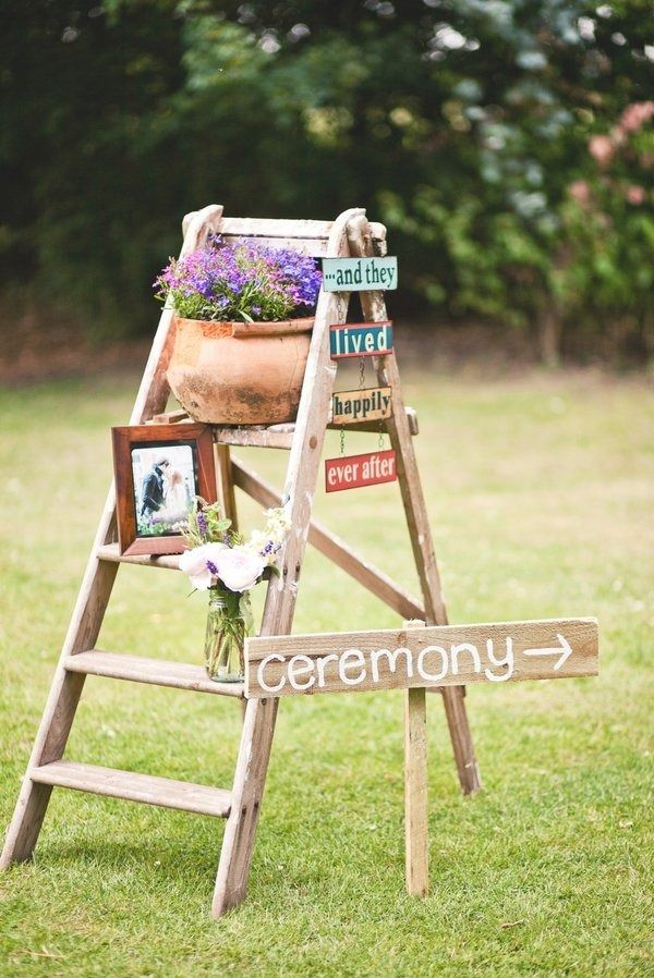 English Backyard Wedding