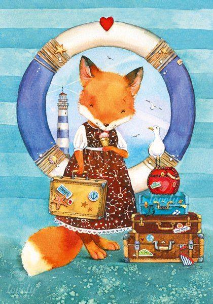 Открытки с лисичками, красивые картинки днем