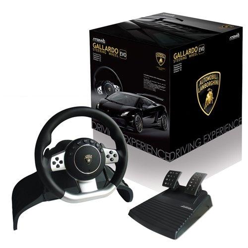 Official Lamborghini Racing Gallardo Evo Steering Wheel
