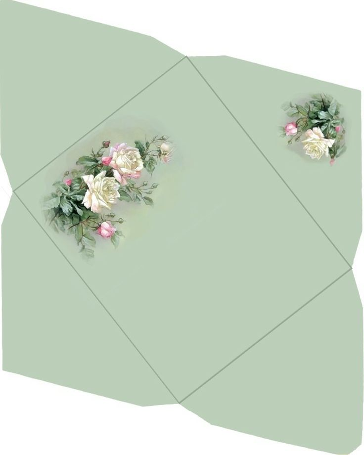 картинка развернутого конверта называли восточный орнамент