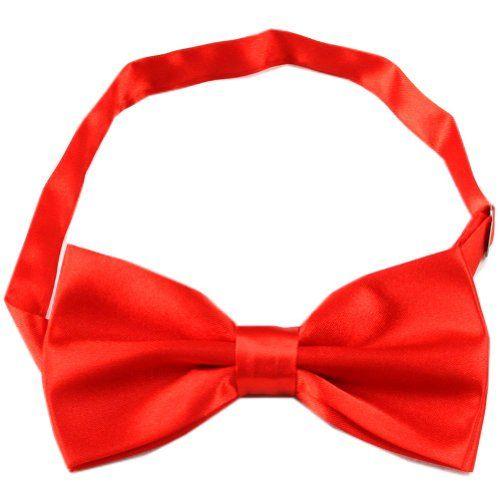"Enwis Tuxedo Mens Bowtie Adjustable Solid Red 4.9""In Width 2.4"" In Height Enwis http://www.amazon.co.uk/dp/B00DNT5HO4/ref=cm_sw_r_pi_dp_ixk0wb0GC9TY2"
