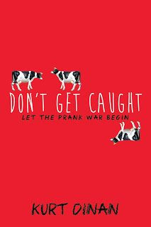 Polkadot's Book Blog: Cover Reveal: Don't Get Caught - Kurt Dinan
