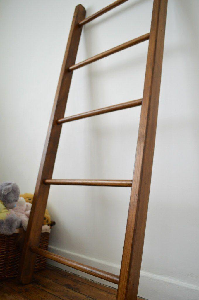 17 best images about bathroom on pinterest bathroom - Decorative ladder for bathroom ...