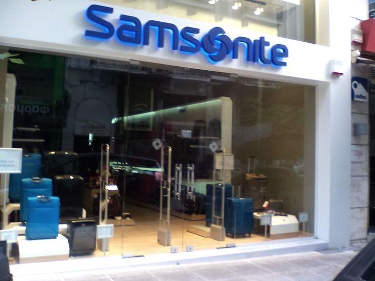 #Samsonite#K.Ntil#Thessaloniki#Greece