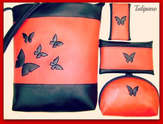 Pillangó táskaszett 3