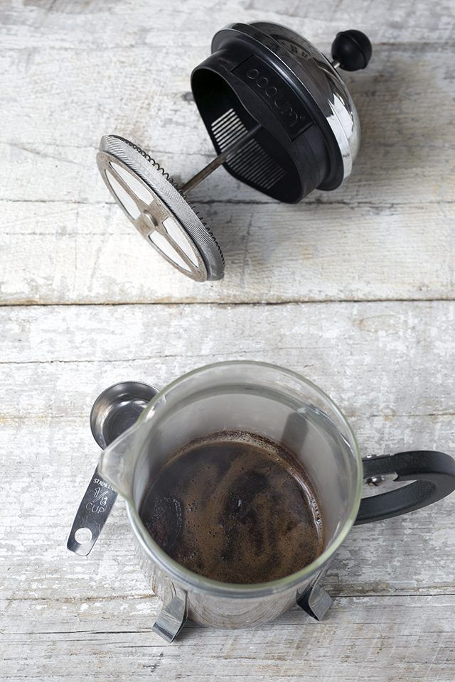You don't need an espresso machine to brew a strong and smooth cup of espresso at home. Learn how to make espresso in a French press.