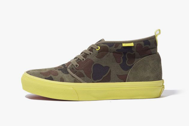 "Xlarge x Vans Chukka Boot ""Hunting-Camouflage"""