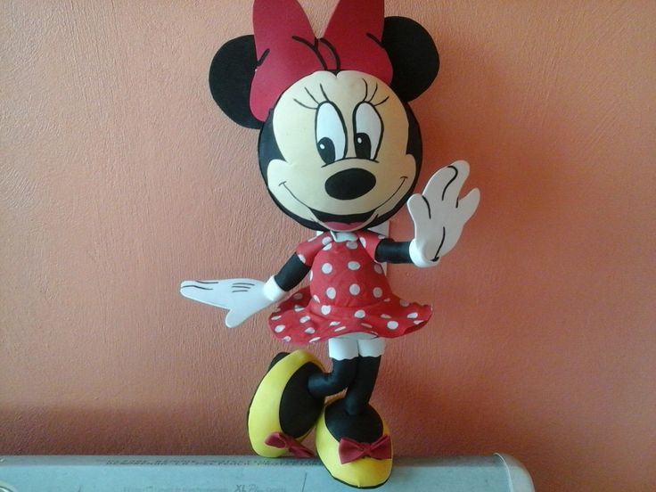 Mice minnie mouse and google on pinterest - Manualidades minnie mouse ...