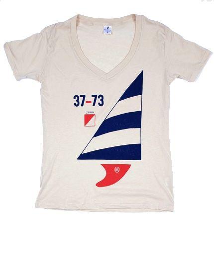 Great nautical tee for women. #tshirt #nautical