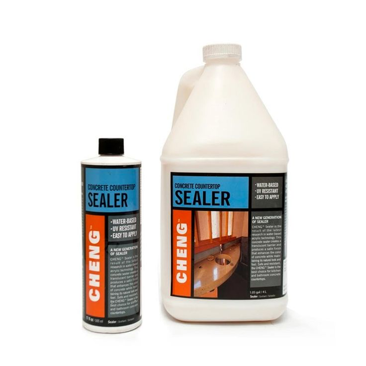 Countertop Paint Sealer : Concrete Countertop Sealer on Pinterest Faux concrete countertops ...