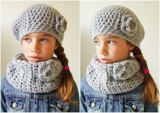 HaakKamer7: Klaar voor de winter. Super leuke baret en colsjawl. Nu nog leren haken. :D
