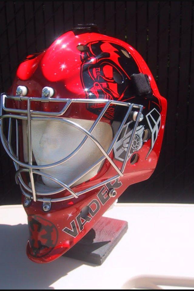 Star Wars goalie mask