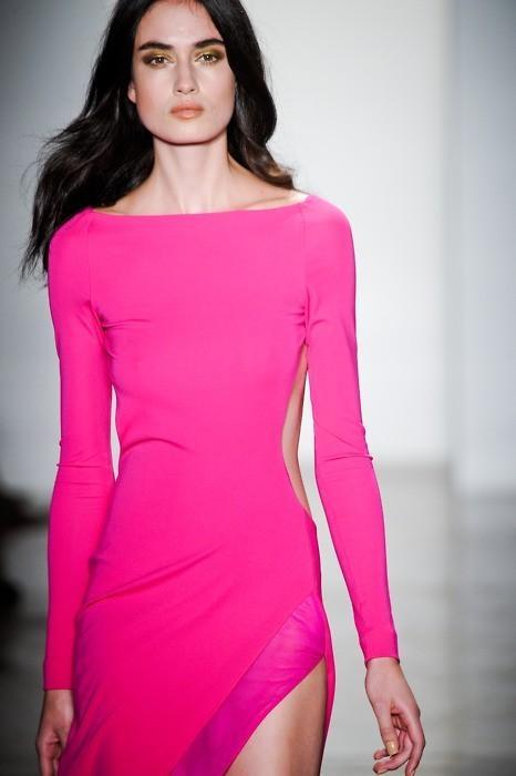 Beautiful bright pink dress