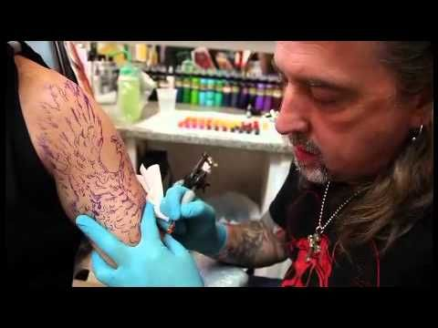 Intenze Tattoo Ink Color Lining Tattoo Ink - PainfulPleasures.com - YouTube