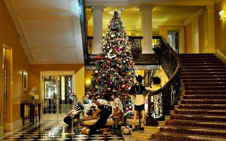 An insider's guide to the best hotels for Christmas in London, featuring the top places to stay for afternoon tea, festive cheer, cosy fires and elegant dining.