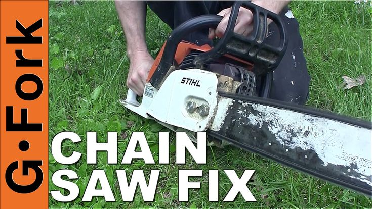 Chain Saw not starting? Learn how to fix a chainsaw, with our chainsaw repair video! Chainsaw repair is not hard, the biggest problem is bad gas, learn here ...