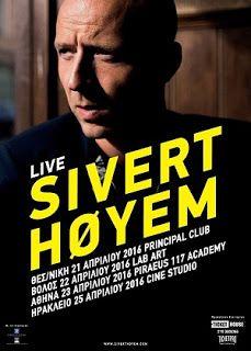Music Is Life... Live Events: Ο Sivert Hoyem τον Απρίλιο στην Ελλάδα http://musicislifeplive.blogspot.gr/2016/02/sivert-hoyem.html