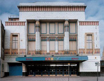 Carlton Cinema (now Mecca Bingo)  161-169 Essex Road, London, N1 2SN    Architect: George Coles, 1930.    source: www.vam.ac.uk