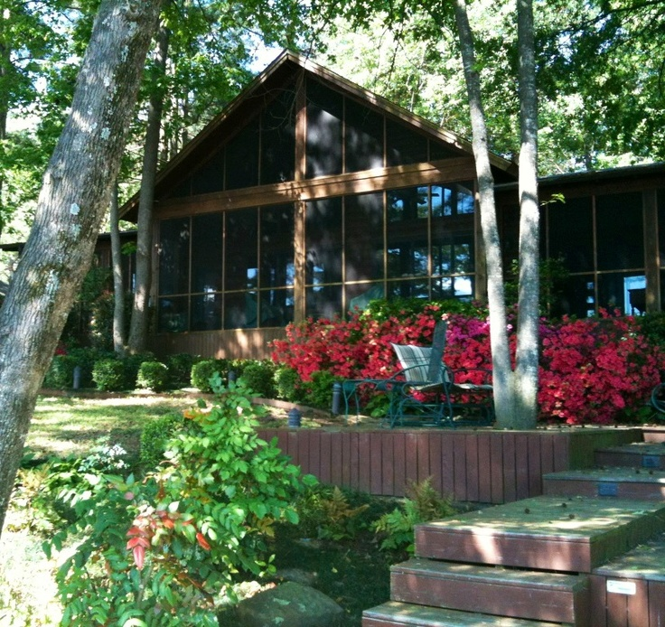 Where I want to be during every thunder storm - screened in porch @ the Cabin