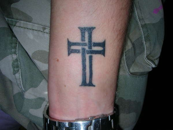 Interior Home Design: Small Cross Tattoo