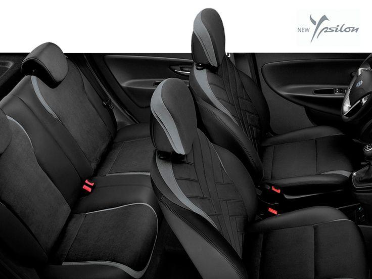 Siedzenia w Nowej Ypsilon to elegancja i komfort dla Ciebie i Twoich pasażerów.