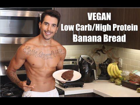 No Chicken In The Kitchen -  Vegan Low Carb/High Protein Flourless Banana Bread. #Abs, #ACAI, #ANIMALCRUELTY, #ANIMALLOVERS, #Biceps, #Bread, #Burrito, #Carbs, #Chicken, #Cooking, #CRAB, #Flourless, #Food, #FROZEN, #GARDEN, #GMO, #GREENS, #HOTMAN, #INTHEKITCHEN, #Kitchen, #KOMBUCHA, #Muscle, #NonGMO, #ORGANIC, #PROBIOTICS, #Protein, #QUORN, #SOJA, #Soy, #Sugar, #SWEETEARTHFOOD, #Tasty, #TOFU, #TOFURKY, #TraderJoe039S, #Vegan, #VEGANBOY, #VEGANMAN, #VEGANMEN, #Veganism, #VEGEN