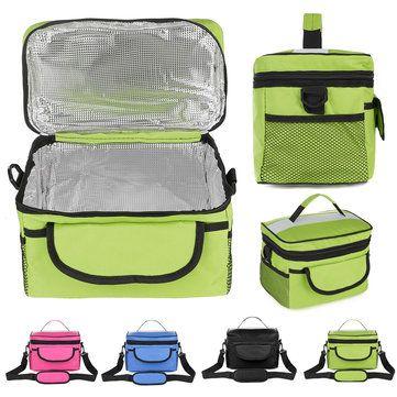 Multi-functional <b>Oxford</b> Cloth Messenger Insulated <b>Bag</b> Outdoor Ice ...