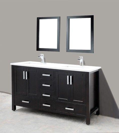 bt adornus astoria 72 inch double traditonal bathroom vanity set espresso
