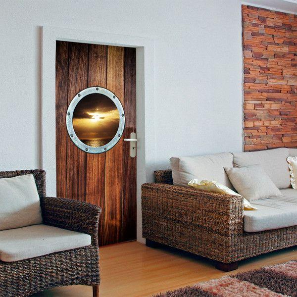Tapeta na drzwi 100x210 zachód słońca 101004-5 - artgeist - Dekoracje #art #design #tapeta #wallpaper