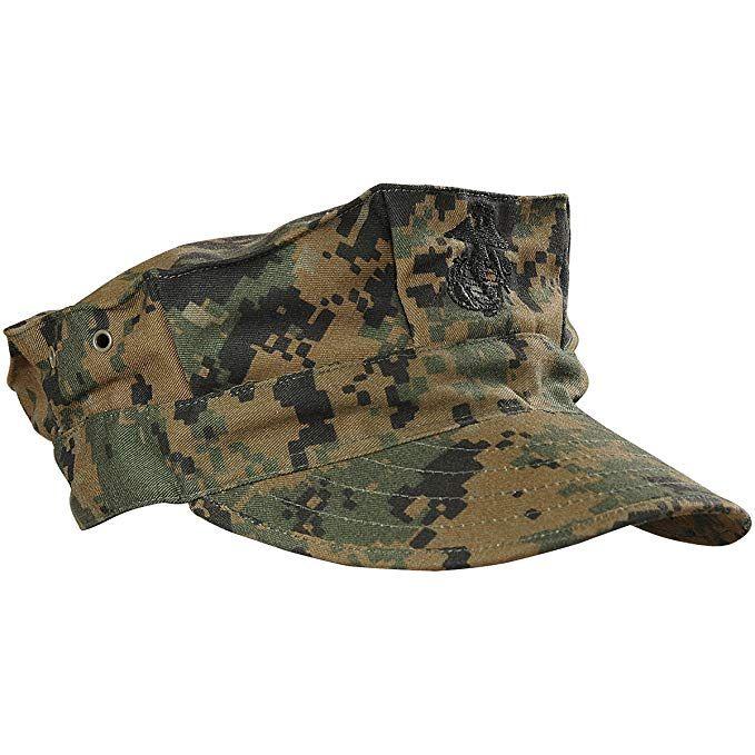 Usmc 8 Point Woodland Utility Cover Marine Corps Marine Corps Hats Usmc