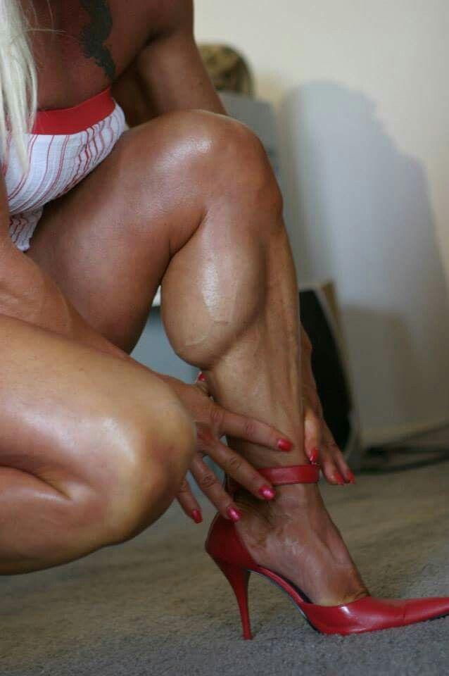 Sexy muscular calves promo