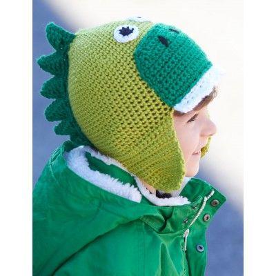 Hatosaurus, #crochet, free pattern, hat, dino, #haken, gratis patroon (Engels), muts, dinosaurus, jongens