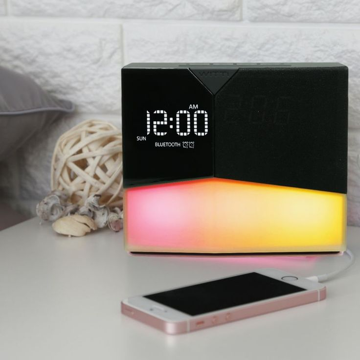 Best Wake Up Experience BEDDI Glow is the BEST wake up light alarm clock. You can wake up naturally with sunrise simulated wake up light every morning, along with your favorite music from Spotify, App