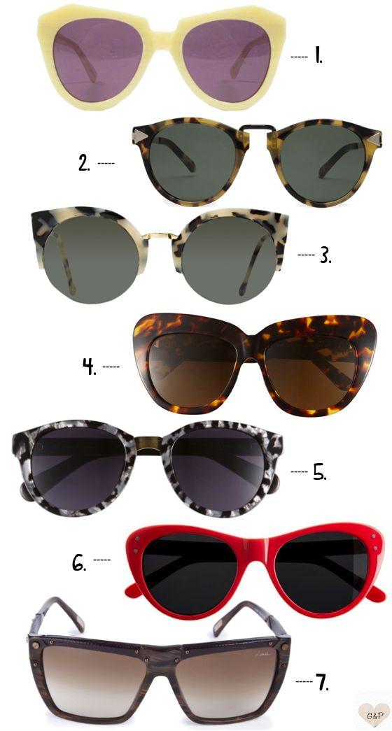 summer sunglasses fashion sunnies _ glitterandpearls.com: Summer Fashion, Ray Ban, Eye