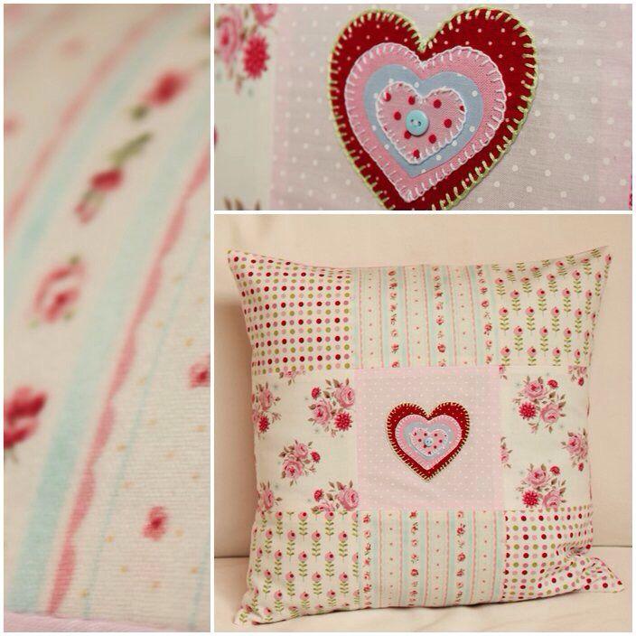 Patchwork, pillows,