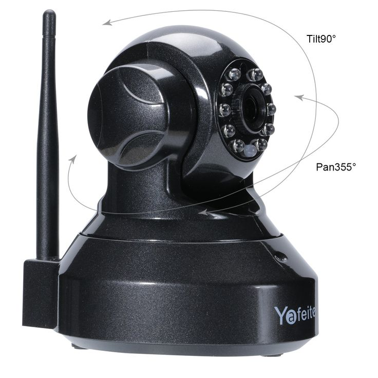 IP Security Wireless Camera 720P Smart Home Camera Baby Monitor For Android/iOS/iPhone/iPad/Tablet,Yafeite HD Pan Tilt And Night Vision (IP2)