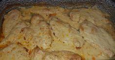 Tejszínes-bazsalikomos csirkemell