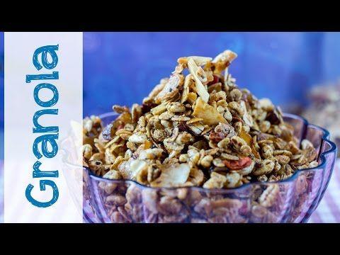 Granola fatta in casa | Ricetta facilissima - Il Goloso Mangiar Sano