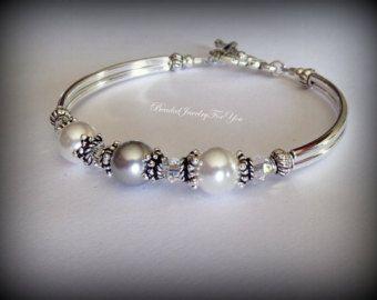 Armband parel bruidsmeisje: Bruids armband, bruids partij juwelen, bruidsmeisje sieraden, huwelijksfeest, bruidsmeisjes sieraden, huwelijksjuwelen