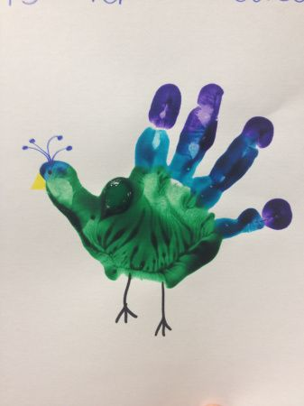 "Perfect peacock craft to go along with ""Three Hens and a Peacock"" A great story about being yourself. http://peachtree-online.com/"