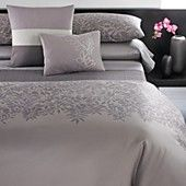 Calvin Klein Madiera Jagged Grid King Coverlet