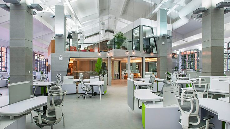 Tencent office in Guangzhou Creative Park by M Moser Associates
