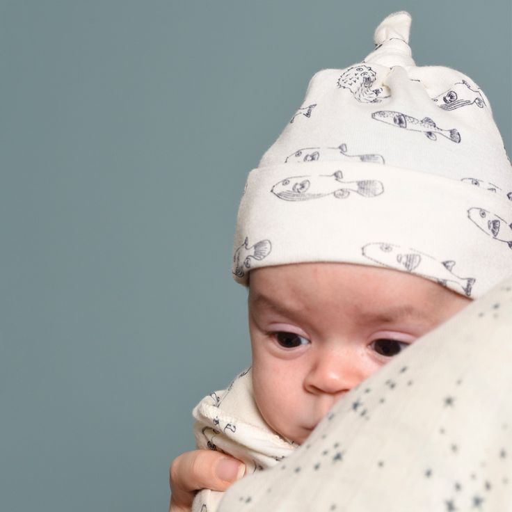Organic Cotton Knotted Beanie | Nature Baby