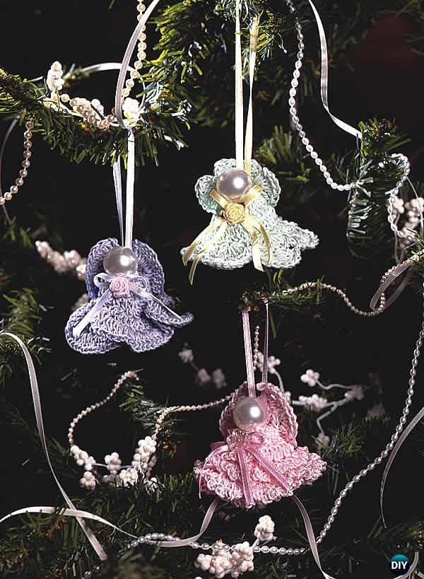 CrochetAngel Bells Free Pattern - Crochet Angel Free Patterns